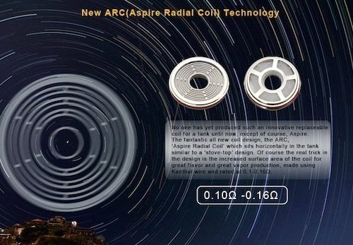 ASPIRE RADIAL COIL