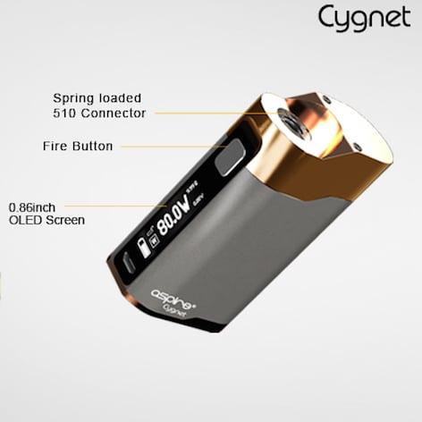 aspire cygnet 80w