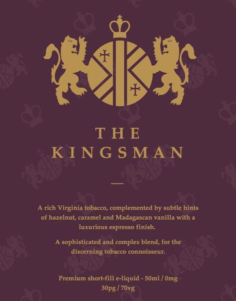the kingsman 50ml